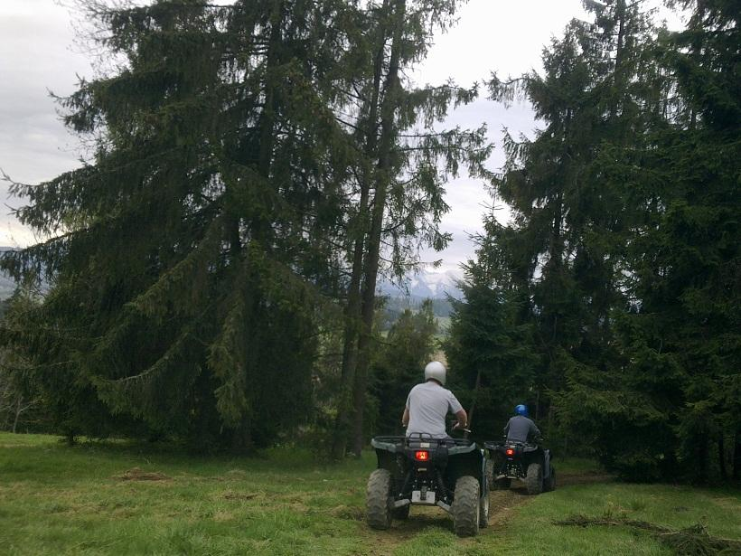 quad in the woods from krakow